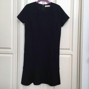 Tory Burch Short Sleeve Shift Dress Navy NWOT